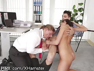 BiEmpire MMF Anal in the Workplace