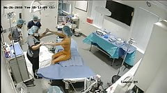 Hidden cam inside clinic of plastic surgery