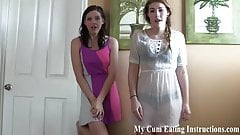 Eat your cum for your hot neighbor girl CEI