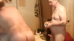 Mature couple 3 some