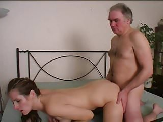 Horny OLD MAN fucks YOUNG CHICK 15
