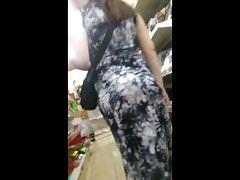 Sexy preggo dress jiggy booty culazo