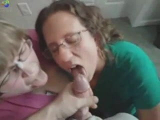 Bbw double blowjob