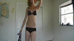 Cute Sexy Girl Stripping on Cam