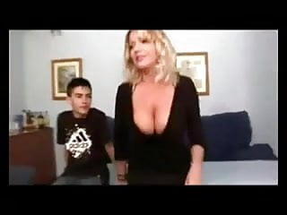 Pregnant porn movie free - Real hot mom and not her son work in porn movie