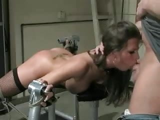 Bound And Roughly Throat Pussy Fucked
