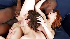 Redhead Wife Jennifer Red Rides BBC Anally