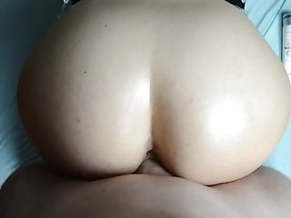 Homemade Huge Cock In Big Butt Cumshot
