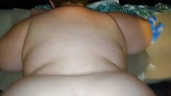 Preggo pawg gets dicked down