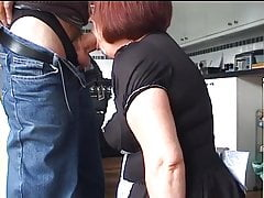 Velmadoo the French maid gagging on cock part 2's Thumb
