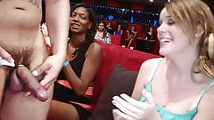 Sexy Chicks Crazy For Male Stripper's Dick