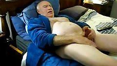 Older mature men masturbating