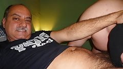 Daddy Barebacking in Madrid