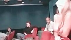 Gangbang Archive MILF with big tits movie theater fuck