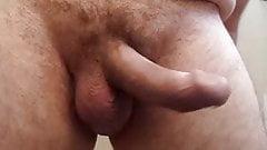 jackmeoffnow cbt bat hit to my low hanging dick erection