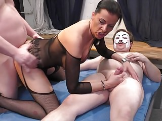 Amazing gangbang with Dacada!