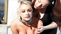 blonde slavegirl trained