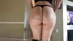 Amateur hot big butt booty twerk homemade
