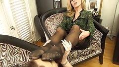 stocking foot worship