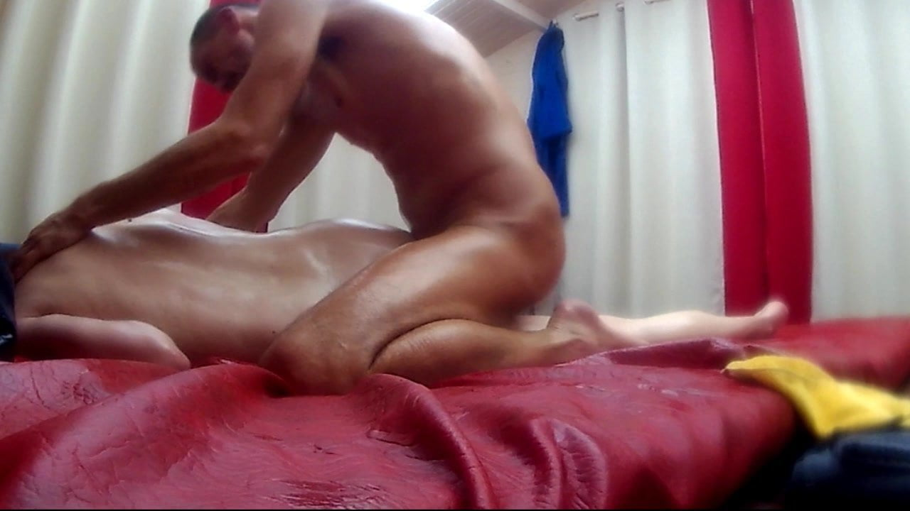 Huge dildo riding