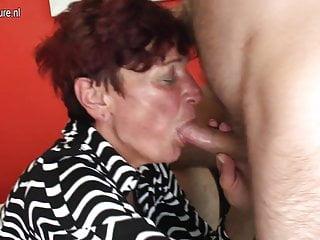 Mature mother seducing her boy for hard sex
