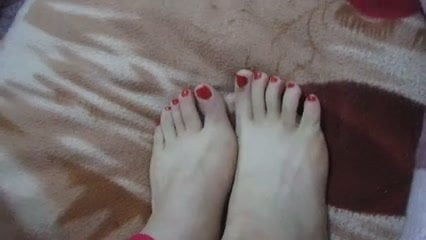 (1) My asian GF's feet, toes and soles! Chinese foot fetish!