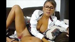 Teen Secretary Show Pussy