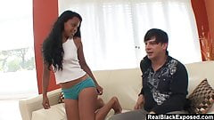 RealBlackExposed - Raylene caught and fucks her stepbro