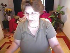 Busty mature on webcam.flv