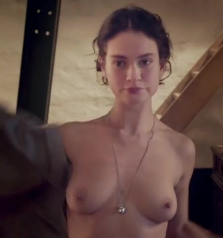 lily james porn