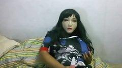 female mask vibrating 2
