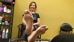 Milf feet 2