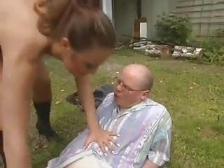 Plump German Guy Fucks A Sexy Teen Who's Out Of His League