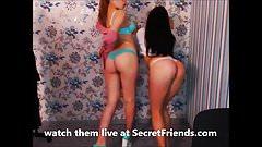 2 girls dance on cam