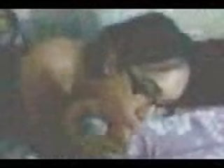 Delhi College Girl Sucking Her Lover's Dick