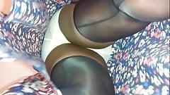 Candid Ebony Upskirt 2001H