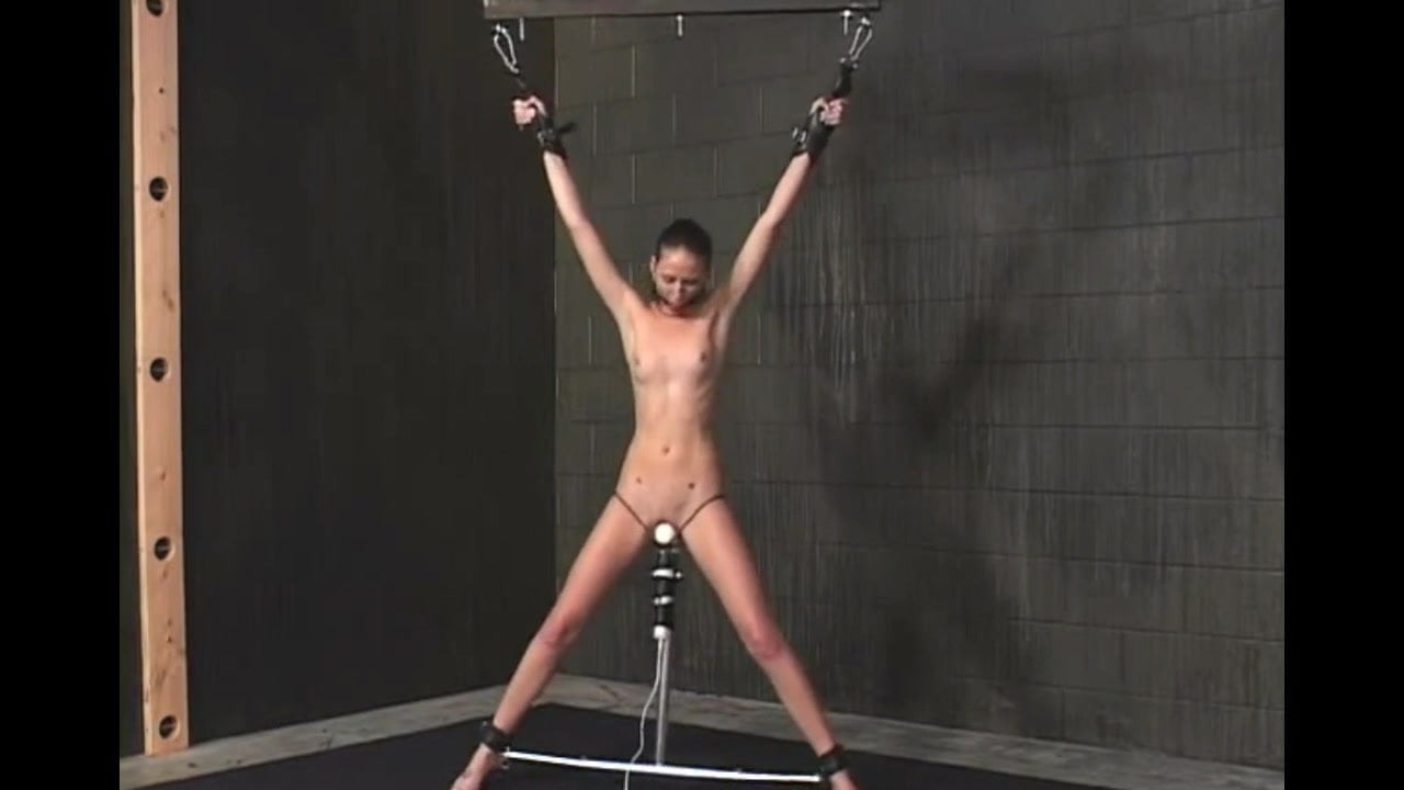 Standing Spread Eagle Bondage And Forced To Orgasm Porn 80-2046