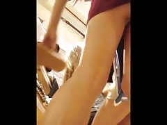 Candid two girls upskirt and boobs 2 (Turkish)