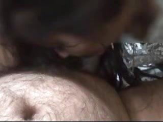 Indian bhabhi giving blowjob 1st part