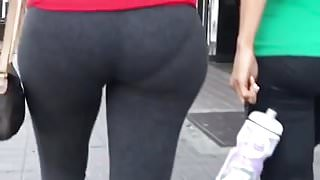 Booty on the street
