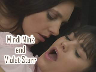 Mindi Mink take care of Violet Starr