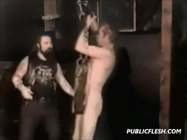 Classic Homosexual Suspension And Fisting