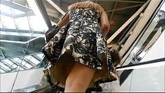 Milf pantyhose upskirt