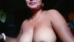 Wondrous amateur Indian busty plump slut showed