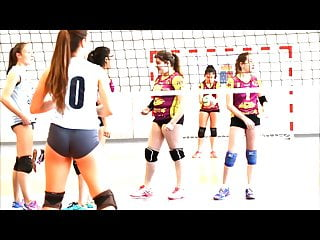 Candid Volleyball Booty Culitos Voleibol