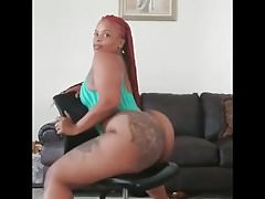 Thick ebony with a phat ass