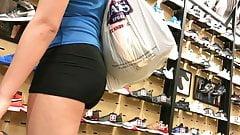 Plump Ass Shopping For Shoes (HD) 09-04-17