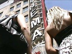 Sexy Blonde Teen Miniskirt