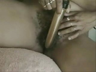 Woman with sweet hairy cunt & small tits