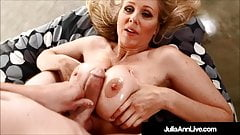 Super Sex Milf Julia Ann Gets Titty Banged By A Hard Cock!